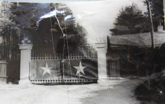 те самые ворота, которые увидел молодой лейтенант Шахмагонов
