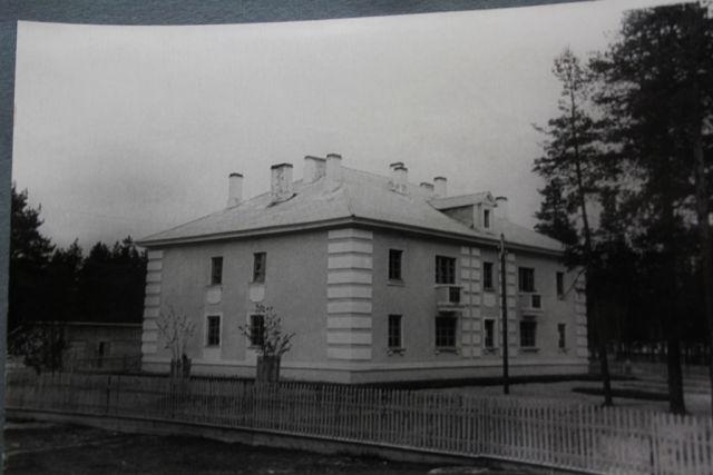 Дом ком.состава в/ч 68586 Куженкино2 1970 год