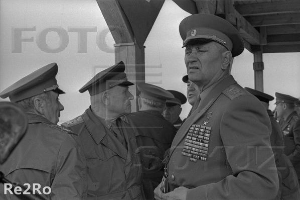 Андрей Антонович Гречка на учениях Днепр-67