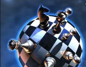 Земной шар и шахмаиы