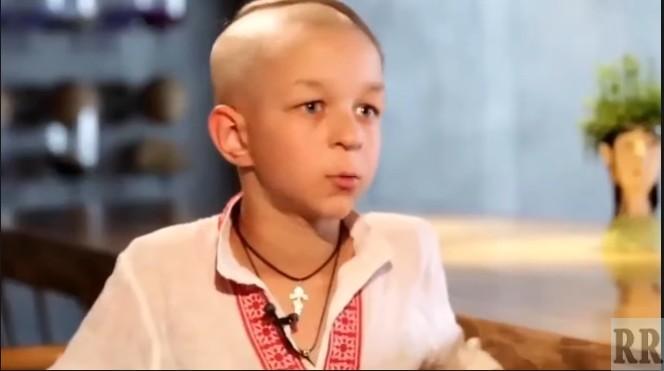 мальчик фашист о Донбассе